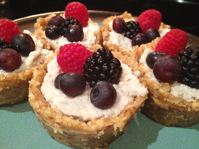 Cashew Cream Cups (RAW, GF, DF, SF, V, V+)