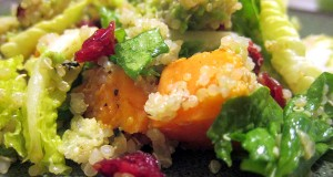 Grilled Sweet Potato & Quinoa Salad (GF, DF, SF, NF, V)