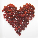 Dried Cranberry Heart