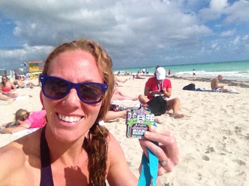 Melissa RNR Half Marathon Medal Miami 2012